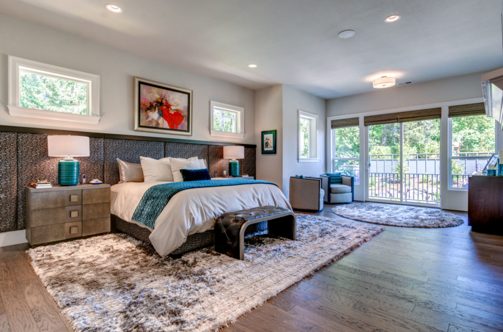Drew Shane Home Sales Luxury and Commercial Portland Real Estate Agent Master Bedroom West Linn Lake Oswego professional photography