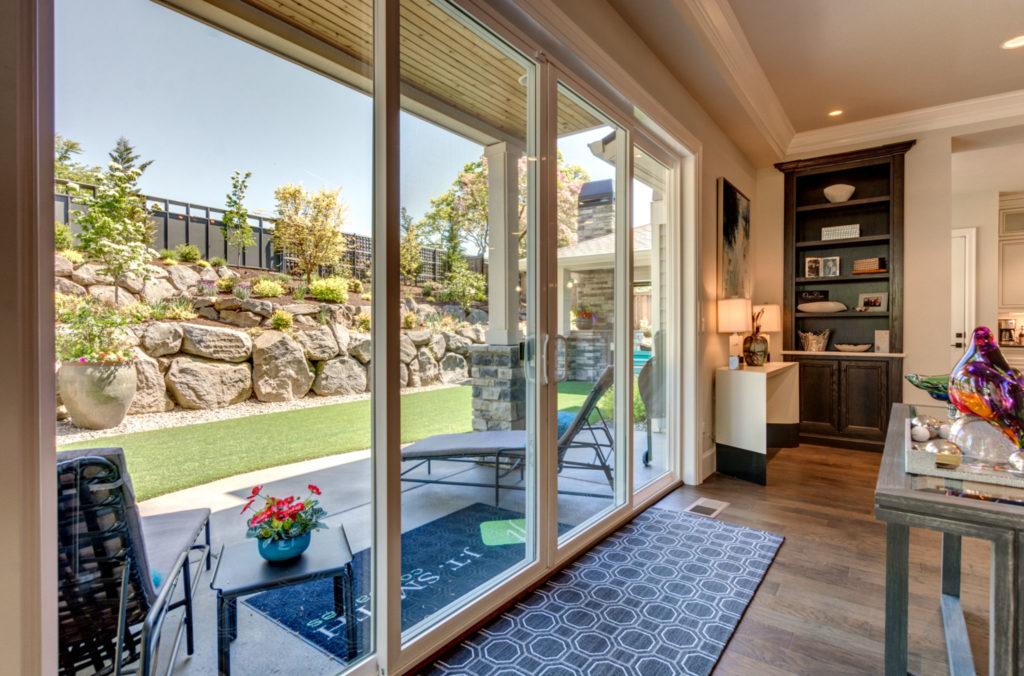 Drew Shane Home Sales Luxury and Commercial Portland Real Estate Agent West Linn Lake Oswego Oregon backyard